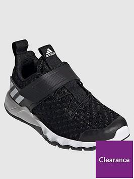 adidas-childrensnbsprapidaflex-summernbsptrainers-black