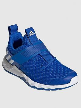 Adidas   Childrens Rapidaflex Summer Trainers - Blue