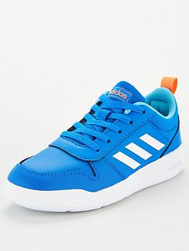 adidas-tensaur-junior-trainers-blue