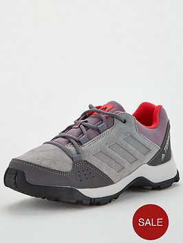 adidas-terrex-hyperhiker-childrens-trainers-greyred