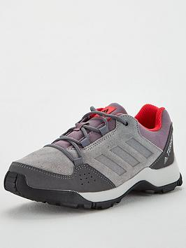 Adidas Adidas Terrex Hyperhiker Childrens Trainers - Grey/Red Picture