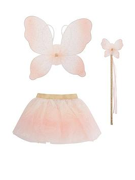 Monsoon Monsoon Girls Ombre Enchanted Ballerina Dress Up Set - Pink Picture