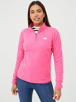 The North Face The North Face 100 Glacier 1/4 Zip - Pink Picture