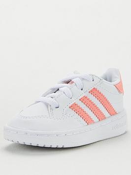 adidas Originals Adidas Originals Novice El Infant Trainer - White Picture