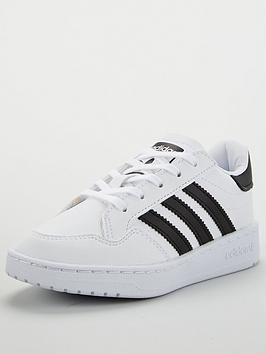 adidas Originals Adidas Originals Novice Childrens Trainer - White Picture
