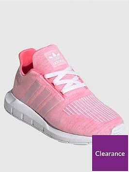 adidas-originals-childrens-swift-run-trainers-red