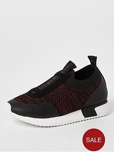 river-island-mini-boys-knitted-runner-dark-red