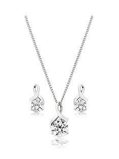 beaverbrooks-9ct-white-gold-cubic-zirconia-pendant-and-earrings-set