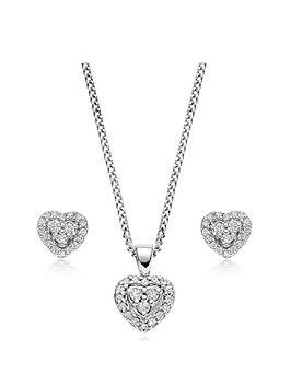 beaverbrooks-9ct-white-gold-diamond-heart-pendant-and-earrings-set