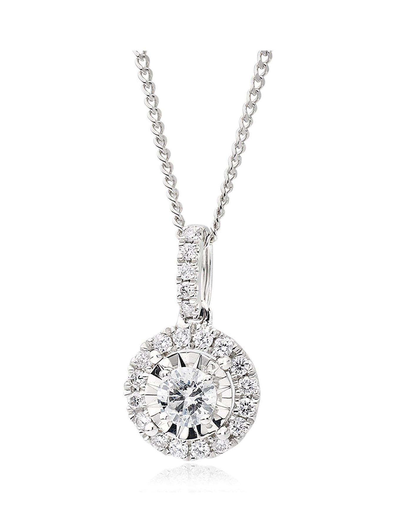 Yellow /& Black Silver and Cubic Zircon Love Necklace 17 Long DiamondJewelryNY Love Pendant