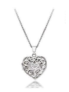beaverbrooks-silver-heart-locket-pendant