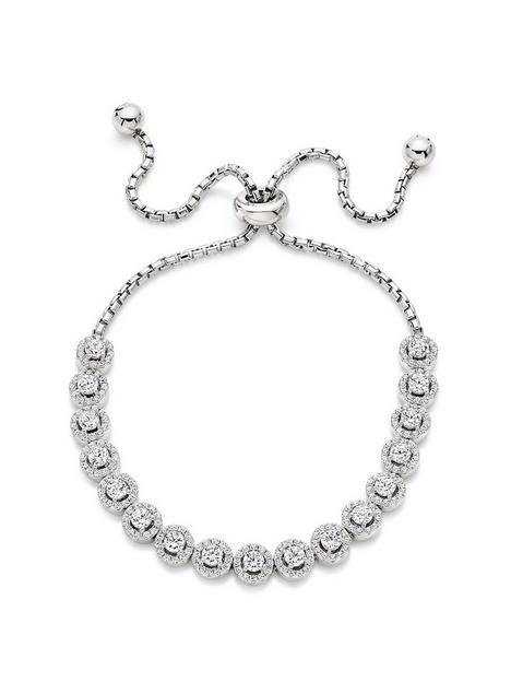 beaverbrooks-silver-cubic-zirconia-bracelet