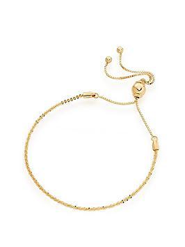 Beaverbrooks Beaverbrooks 9Ct Gold Slider Bracelet Picture