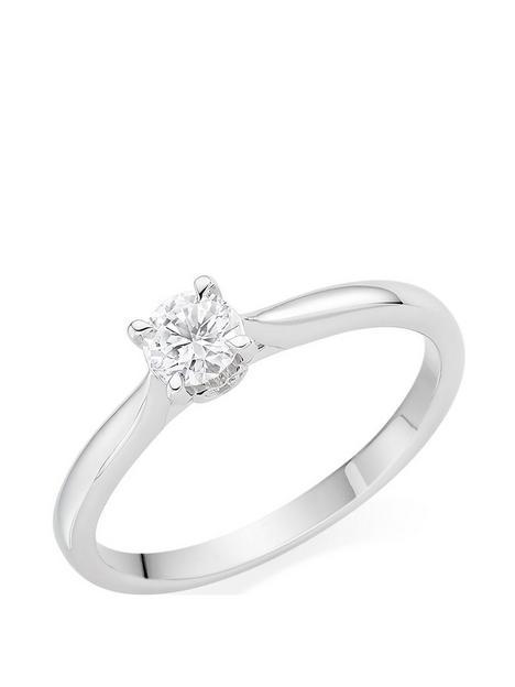 beaverbrooks-18ct-white-gold-diamond-ring