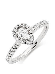 beaverbrooks-18ct-white-gold-diamond-pear-shaped-halo-ring