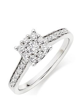 beaverbrooks-9ct-white-gold-diamond-cluster-ring