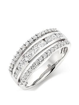 Beaverbrooks Beaverbrooks Platinum Diamond Ring Picture