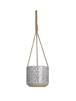 Very Ceramic Printed Hanging Planter Picture