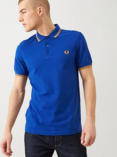 fred-perry-twin-tipped-fred-perry-polo-shirt-cobalt-blue
