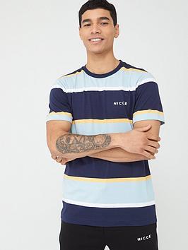 nicce-pillar-t-shirt-navyblue