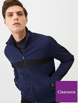 fred-perry-colour-block-track-jacket-navy