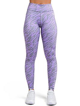 Pink Soda Pink Soda Zebra Tight - Lilac Picture