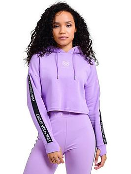 Pink Soda Pink Soda Congo Taped Hood - Lilac Picture