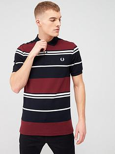 fred-perry-stripe-polo-shirt-port