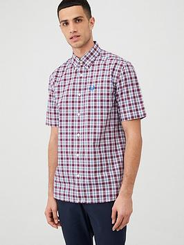 Fred Perry Fred Perry Checked Shirt - Red Picture