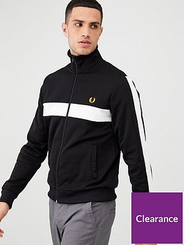 fred-perry-contrast-panel-track-jacket-black
