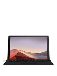 microsoft-surface-pro-7-123in-intel-core-i5-8gb-ram-128gb-ssd-2-in-1-laptop-with-type-cover-black