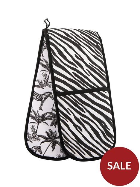 summerhouse-by-navigate-madagascar-double-oven-glove-zebra