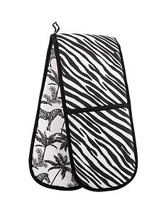 summerhouse-by-navigate-madagascar-double-oven-glove-zebra