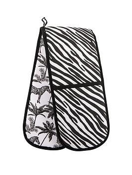 Summerhouse By Navigate Madagascar Double Oven Glove - Zebra