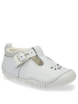Start-Rite Start-Rite Baby Girls Bubble Shoe - White Picture