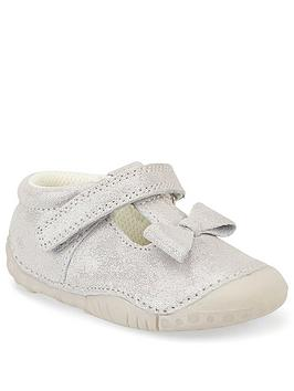 Start-Rite Start-Rite Baby Girls Wiggle Shoes - Grey Picture