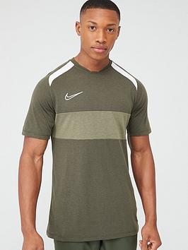 Nike Nike Academy Gx Short Sleeved Tee - Khaki Picture