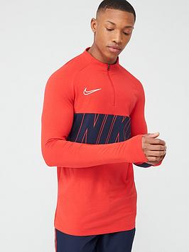 Nike Nike Academy Drill Top - Navy/Red Picture