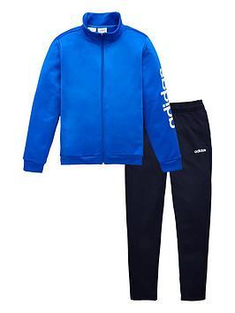 adidas-childrens-tracksuit-blue