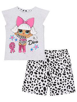 L.O.L Surprise! L.O.L Surprise! Girls Diva T-Shirt And Mono Leopard Short  ... Picture
