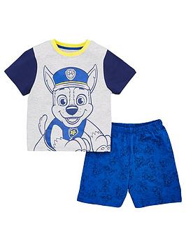 Paw Patrol Paw Patrol Boys Chase T-Shirt And Short Pjs - Multi Picture