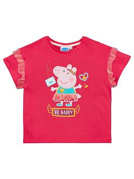 Peppa Pig Peppa Pig Girls Fashion T-Shirt - Pink Picture