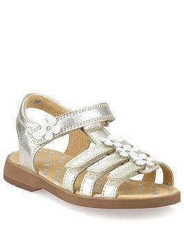 Start-Rite Start-Rite Girls Picnic Sandals - Silver Picture