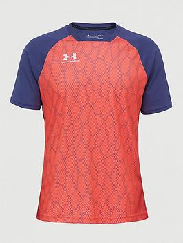 Under Armour Under Armour Accelerate Premier Short Sleeved Tee - Red Picture