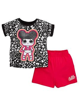 L.O.L Surprise! L.O.L Surprise! Girls T-Shirt And Short Pjs - Multi Picture