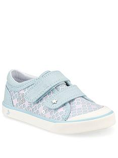 start-rite-girls-magic-canvas-strap-plimsoll