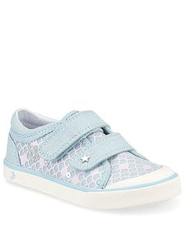 Start-Rite Start-Rite Girls Magic Canvas Strap Plimsoll Picture