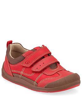 Start-Rite Start-Rite Boys Tickle Strap Shoe - Red Picture