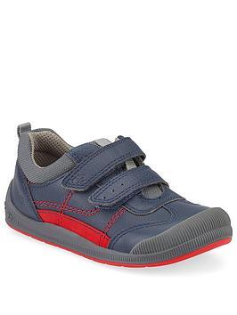 Start-Rite Start-Rite Boys Tickle Strap Shoe - Navy Picture