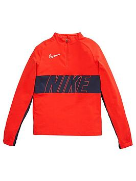 Nike Nike Boys Academy Drill Top - Navy/Red Picture